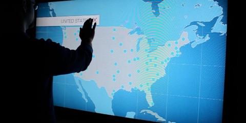 Bell Map Touchscreen